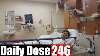 EMERGENCY ROOM SLEEP OVER  - #DailyDose Ep.246 | #G1GB