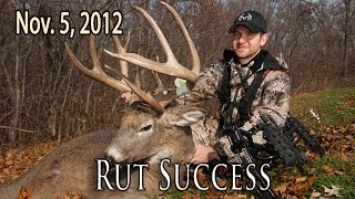 Rut Hunting Success | Midwest Whitetail 2012