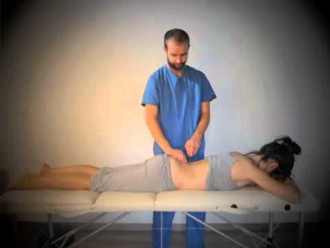 Esercizi per la colonna vertebrale toracica