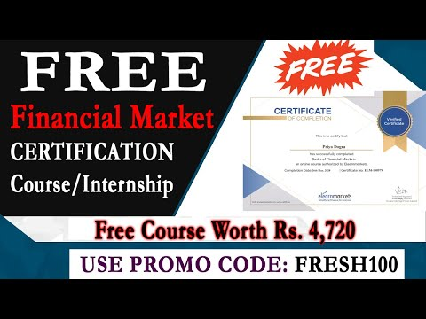 Financial Market Free Course with Certificate - Stock Market Free ...