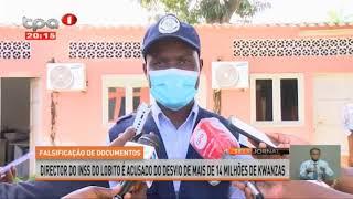 Falsificação de documentos – Detido director do INSS do Lobito