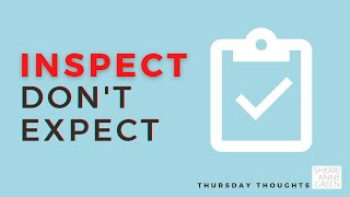 Thursday Thoughts: Home Inspections