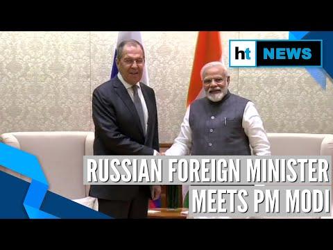 Russian FM meets PM Modi, bats for India's UNSC inclusion at Raisina Dialogue