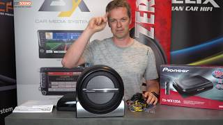 Pioneer Aktivwoofer TS-WX120A und TS-WX210A  - feiner Aktivbass für euer Auto