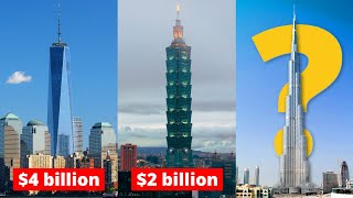 Most expensive skyscrapers in the world