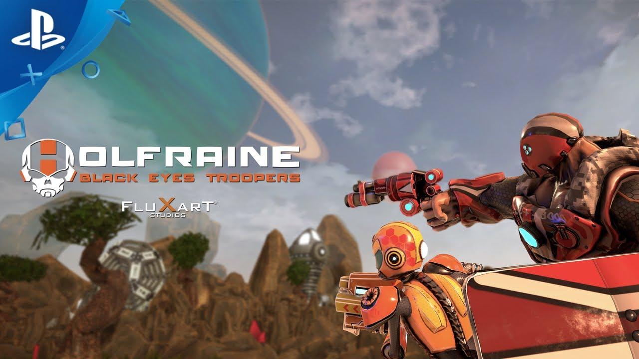 Holfraine llegará en exclusiva a PS4 el 3 de marzo