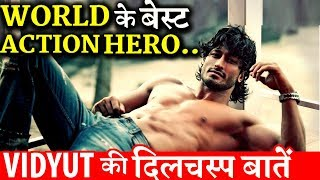 Interesting Facts About Bollywood and World's Best Action Hero Vidyut Jammwal