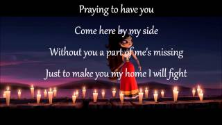 The Book of Life- I love you too much Lyrics