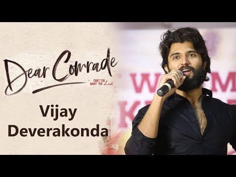 Vijay Deverakonda About Dear Comrade At Success Meet