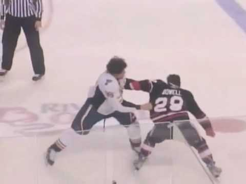Jake Dowell vs Ryan Reaves
