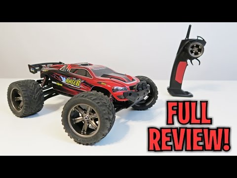 Unboxing & Let's Play – Off Road RC Truggy – 1:12 2.4GHz Monster Stunt Truck!