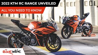 New 2022 KTM RC 390, RC 200, RC 125 Unveiled   ALL YOU NEED TO KNOW   Price & Launch Date   BikeWale