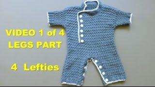 Knit Along BABY JUMPER - Video 1/4 - LEG Part (4 LEFTIES)