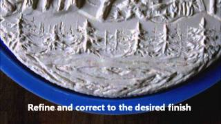 preview picture of video 'Medal Design / Low Relief Sculpture'
