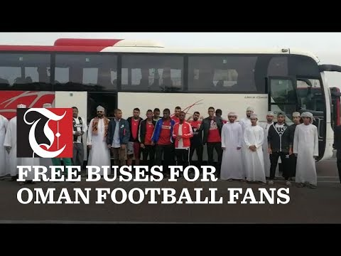 Video: Oman football fans ride to Abu Dhabi for free thanks to Mwasalat