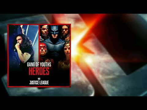 Justice League Heroes Trailer Music (Heroes by Gang of Youths Cover)