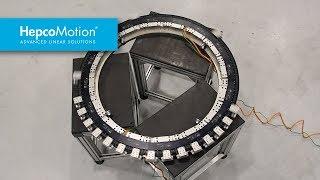 GFX Système de guidage Hepco pour circuit XTS Beckhoff