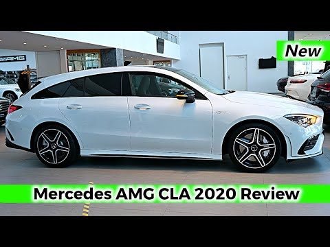 New Mercedes AMG CLA 35 Shooting Brake 2020 Review Interior Exterior