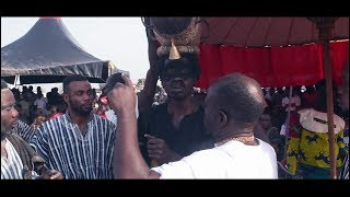 Wonders shall never ends.  Lilwin's Singer TOP KAY finally inaugurated as a Fetish priest.
