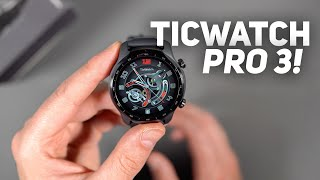 TicWatch Pro 3 Unboxing and Tour!