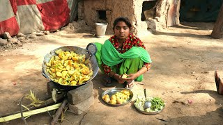 Little Girl Cooking Food💖Village Life of Punjab/India💜Indian Rural Life💜Villager life of punjab