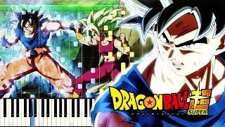 Dragon Ball Super OST - Ultimate Battle | Piano Tutorial