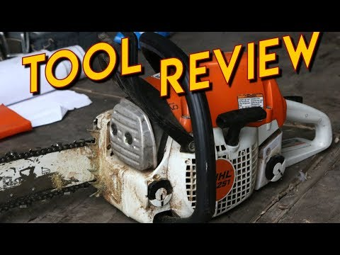 Stihl MS251 Chainsaw Review