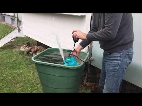 Funktion einer Tauchwasserpumpe -Gardena-