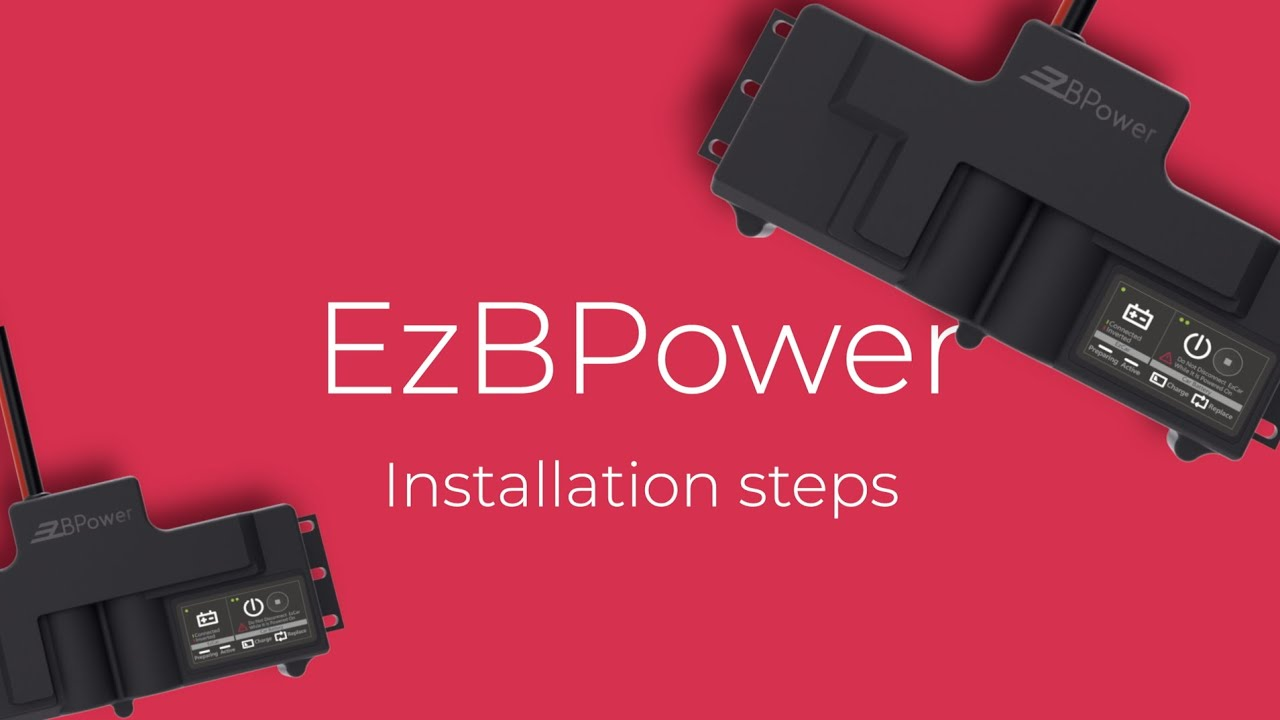 EzBPower | Installation Steps | Team Young
