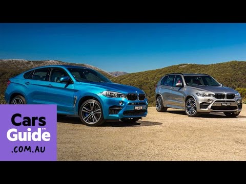 2015 BMW X5 M and X6 M review | Australian launch