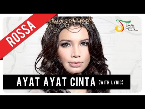 Rossa - Ayat Ayat Cinta (with Lyric) | VC Trinity