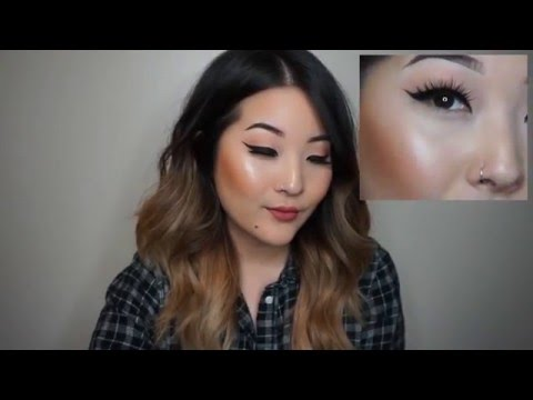 Monolid Winged Liner Tutorial - Asian Eyes