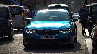 BMW M5 F90 - Loud acceleration in Central London