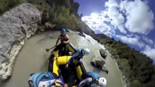preview picture of video 'Rafting - Rio Gállego (Murillo de Gállego / Spain) con www.urpirineos.es'