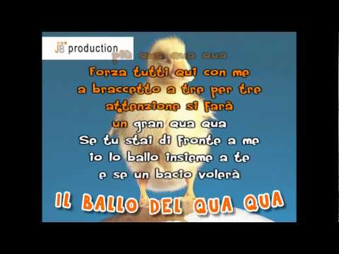 Video Mp3 Il Ballo Del Qua Qua 4d Videos Mp3