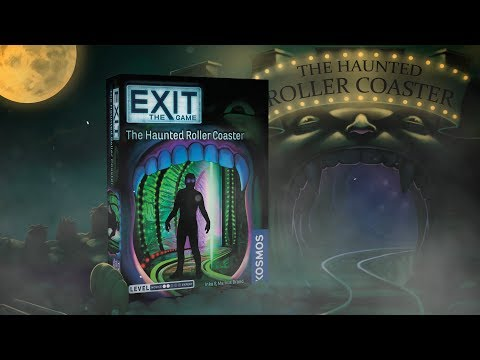 Youtube Video for The Haunted Roller Coaster - Exit Game