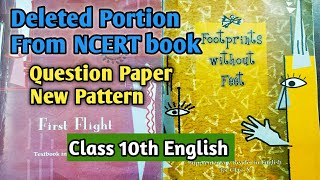 Reduced Syllabus Of Class 10 English 2020-2021/New Pattern Of CBSE Question Paper English 2020-2021/
