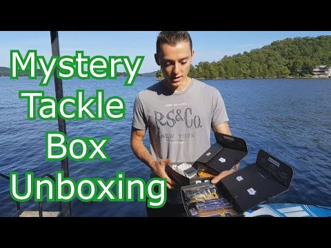 2018 Mystery Tackle Box Unboxing - MTB Pro Bass