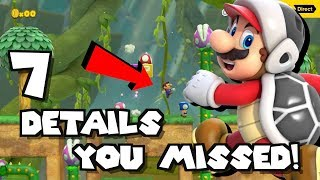 7 Cool Details You MISSED in the Mario Maker 2 Direct!!!