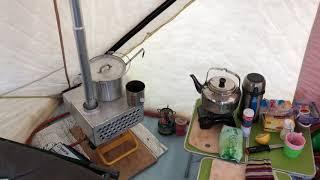 Рыбалка в палатке снегирь 4т лонг