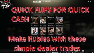 Simple Flips For Quick Cash On The Flea Market - Escape From Tarkov