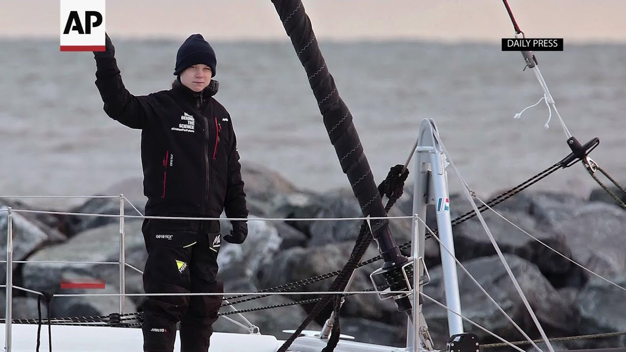 Greta Thunberg to hitch a ride to Europe with Australian YouTube influencers