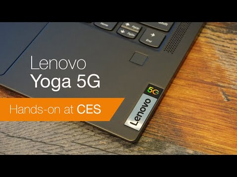 External Review Video 2zo1xCA3hLM for Lenovo Yoga 5G 2-in-1 Laptop