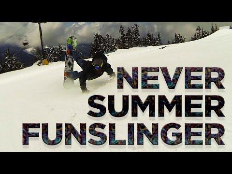 Never Summer Funslinger Snowboard Review – Board Insiders – 2016 Never Summer Funslinger Review