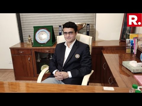 Sourav Ganguly Officially Takes Charge As New BCCI President