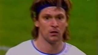 Уэльс - Россия 0:1 стыковой матч Евро 2004 2/2