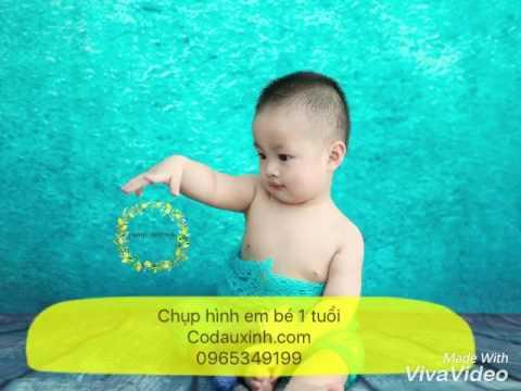 Chụp hình em bé 1 tuổi ý tưởng chụp em bé dễ thương