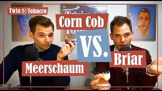 Pipe Materials: Briar VS. Meerschaum VS. Corn Cob - Pros and Cons