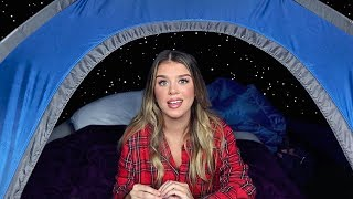 going camping for the first time *BY MYSELF*