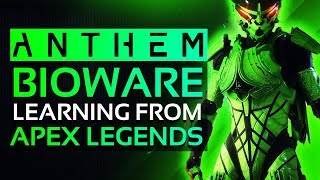 ANTHEM NEWS - Bioware Looking At APEX LEGENDS To Improve Game & NEW UPDATE Undocumented Changes!